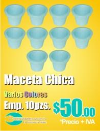 Macetas de Unicel